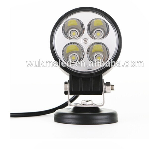 E-mark 12w led work light circle,off-road auto lamp high quality hotsale