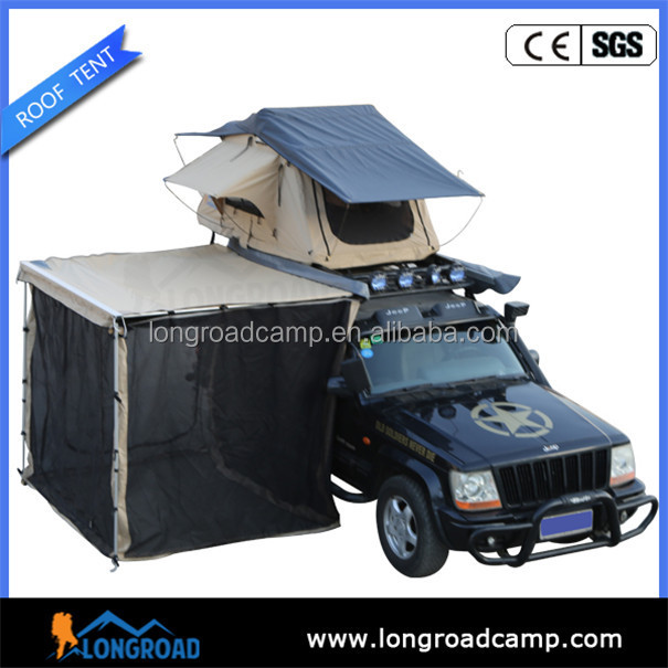 Camping trailer Retractable outdoor camping expedition trailer tent