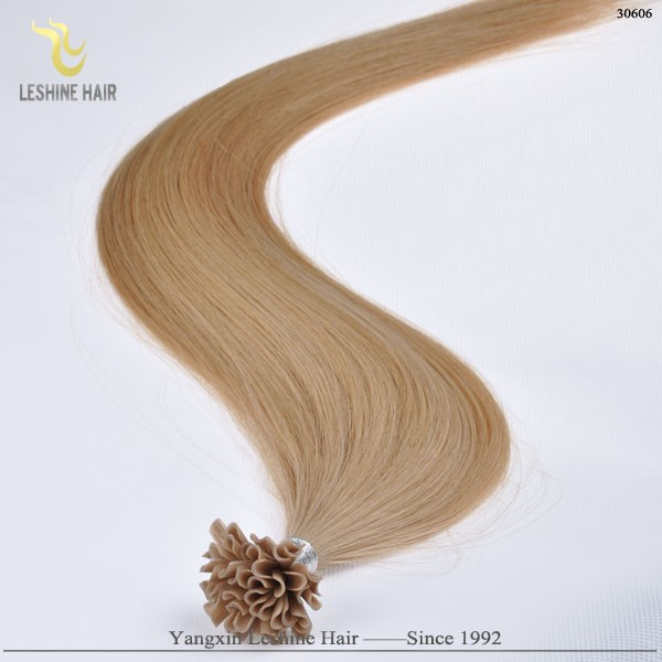 first selling South Africa Keratin Nail Tip keratin treatment wholesale remy stick tip double drawn hair for Canada