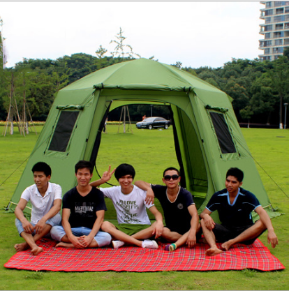 3-4 People Outdoor Beach Tents Full-automatic tent