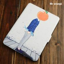 Portable Magnetic smart 6 inch mix pattern high protective tablet case for kindle paperwhite 2