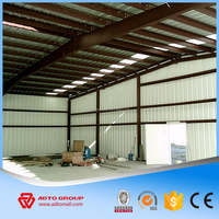 Hot Sale China Steel Structure Industry Shed Metal Space Truss Roofing Prefab Building Warehouse NEW Brief Design With Drawings