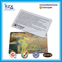 Low price! rfid hotel door card with Utralight chip