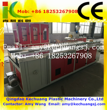 plastic PVC/ UPVC/ WPC/ door board window profile making extruder machine price