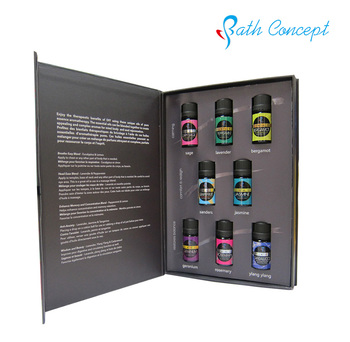 Private label natural lavender essential oils set wholesale