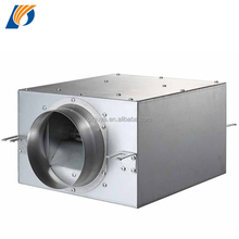 DPT Low Temperature Rise In-line Duct Fan with Overheat Protection Motor
