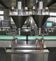 Automatic glass bottle soda powder filling machine with CE,ISO,BV,GMP