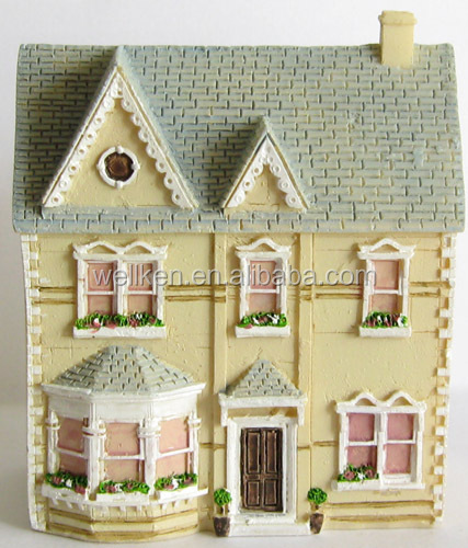 resin scaled 3d building models