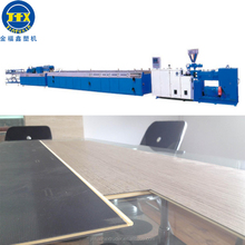 mdf wooden plastic composite decking panel sawdust board door picture frame pallet making machine production line extruder