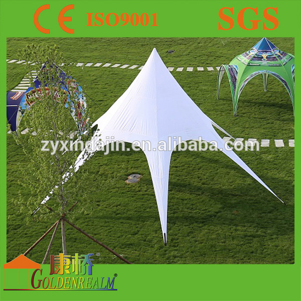 Customer printing star tent outdoor event tent sun shelter