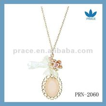 Fashion Romantic Crystal Charm Necklace 2012