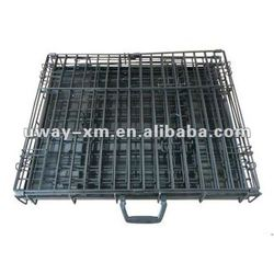UW-PDC-101 Customized design acceptable,high quality foldable pet cage with a handle,dog cage,cat cage