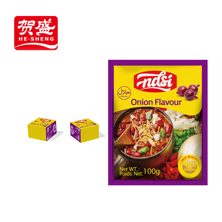 Manufacture free samples halal chicken bouillon cube with no msg