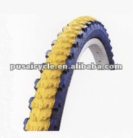 Pusai high quality bicycle parts/bicycle tire color export to south america