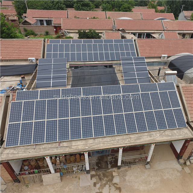 off grid 10KW 15KW thermal plant photovoltaic 5kw panels home solar power system