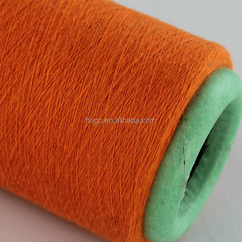 Ne 16s combed cotton polyester yarn price in india made in turkey for socks