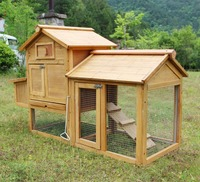 wooden chicken house/large chicken coop