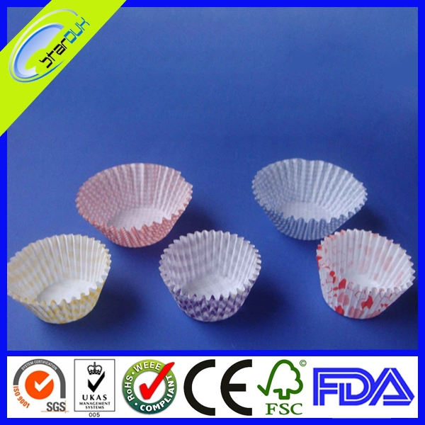 high quality new style round paper cupcake liners