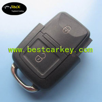 Topbest auto key for VW remote key with 2 button remote unit 433MHZ 1J0 959 753 AG