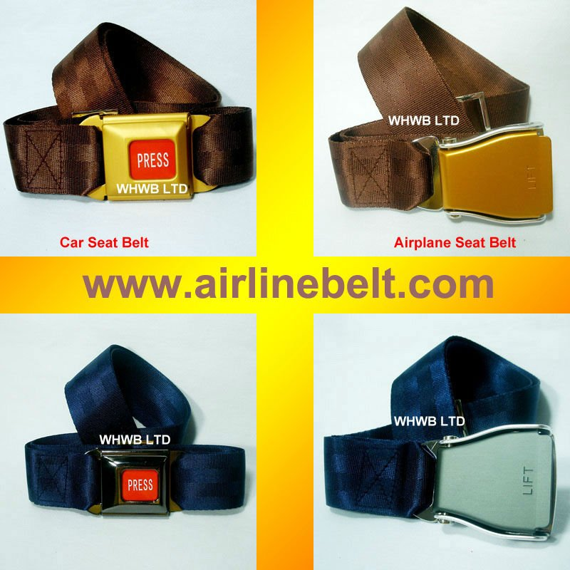 Top Classic airplane men chain belt