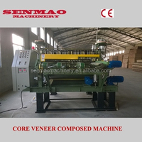 hot press wood veneer composer /Core Veneer Joint/ plywood production machine