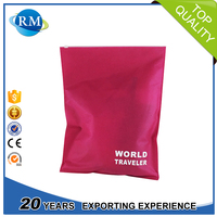 Non woven custom mini ziplock bag from China for cloth storage