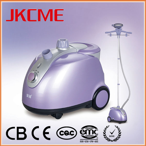 The most popular solar electric iron made in China alibaba steamer stand 1800w abs standing steam cleaning appliance