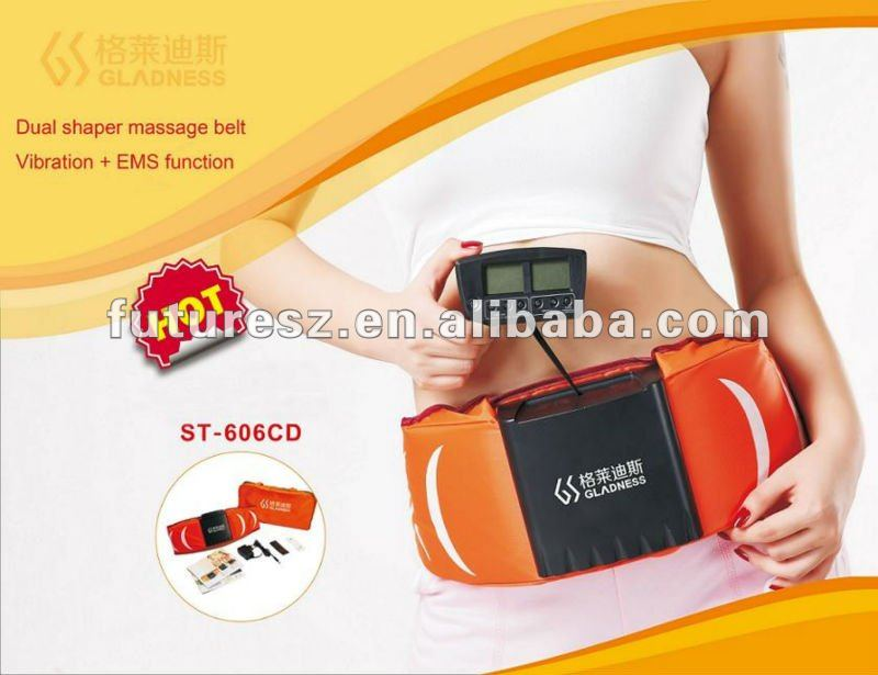 slimming belt vibro shape with dual function