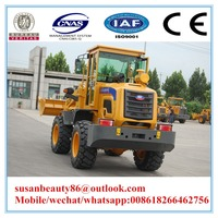 3 ton wheel loader of agricultural equipment