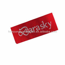 wholesale brand red fashion labels for clothes