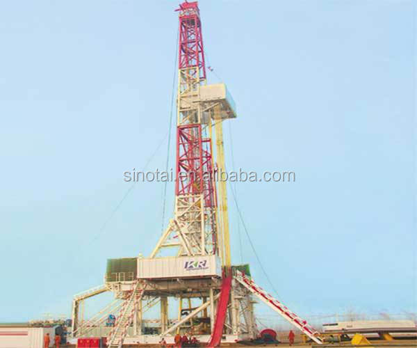 API Oil Field Trailer-Mounted Drilling Rigs