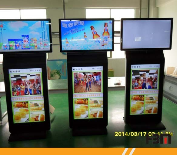 47 INCH Airport Double Screens LCD Advertising Display