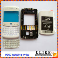 Original Mobile Phone Full Housing for BlackBerry 9360 White