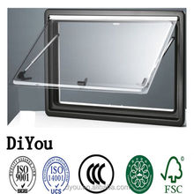 High quality caravan side window hinged window