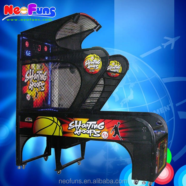 Amusing Deluxe Basketball Machine/ Basketball Arcade Machine China Manufacturer/Shooting