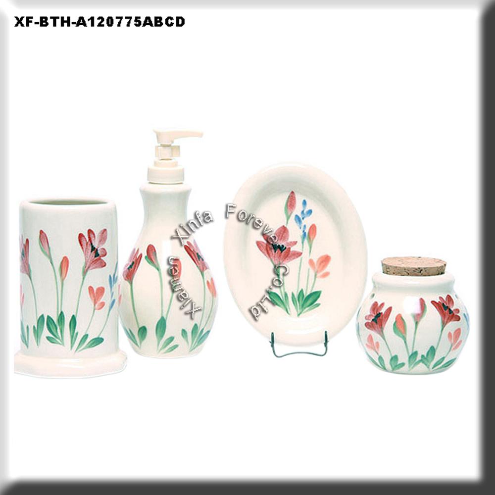 Ceramic bathroom accessories set sanitary items buy for Bathroom sanitary accessories