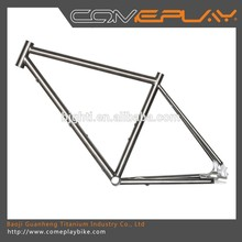 OEM 700C Single Speed Fixed Gear titanium bicycle frame china bicycle frame