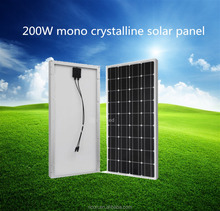 high quality 200w mono crystalline solar module for sale at favorable price