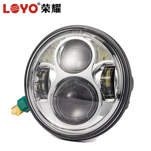 "40W 5.75inch ( 5 3/4"" ) led headlight for harley motorcycle"