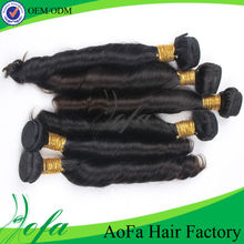 High quality factory prices 100% real natural european virgin remy hair