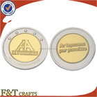 Fashion cheap hot sale double plating side coin /custom coin /coin blanks