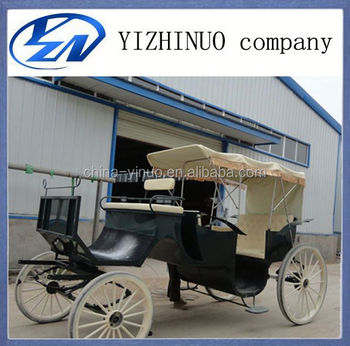 Hot Sale romantic tourism sightseeing horse carriage for Sale