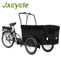 hot three wheel electric bicycle cargo for mom and baby