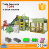 bricks project QT12-15 concrete paver block plants building blocks hollow