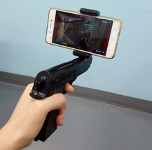 2017 hotsales plastic ar gun game player for mobile phone