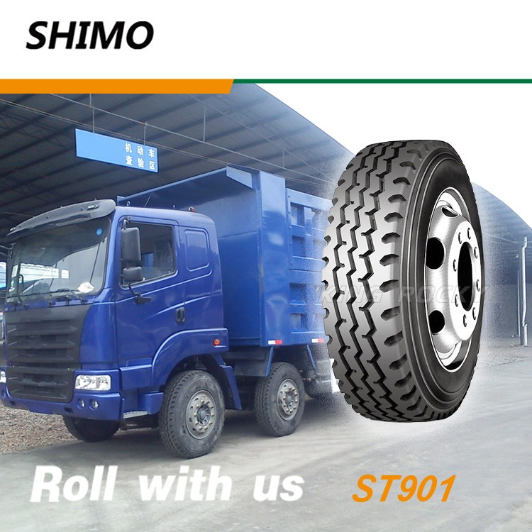 13r22.5 tires suitable for well paved roads and mixed roads