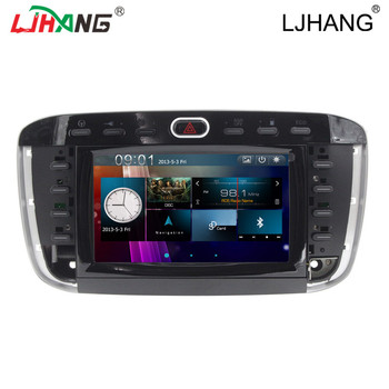 car multimedia player for Fiat Linea /Bluetooth driver/IPOD/car stereo radio