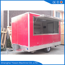 1.38 ton Fast Food Car / Fast Food Trailer van outdoor catering / Yieson High Quality popcorn buffet car hot burger kiosk house