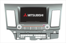 car dvd for MITSUBISHI MITSUBISHI LANCER EX with GPS android 4.4.4