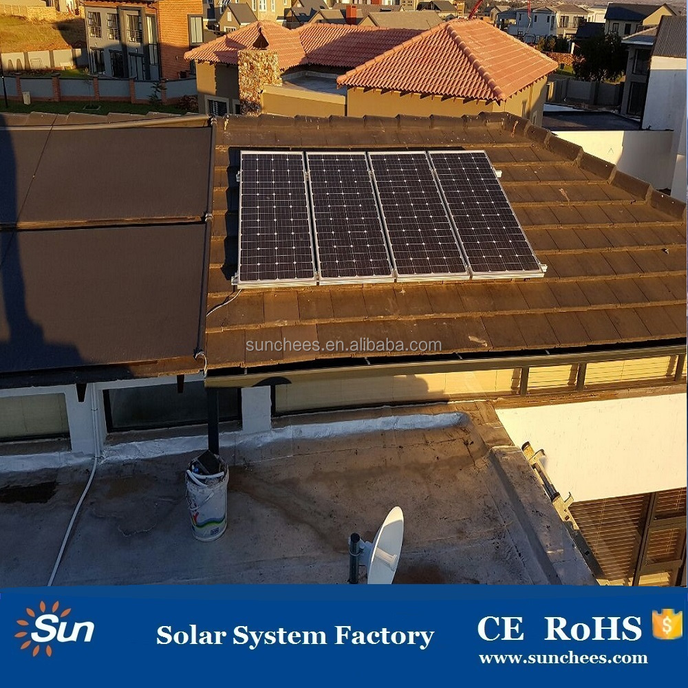 Sunchees brand factory supplier 10kw solar panel system ; chinese solar panels for sale